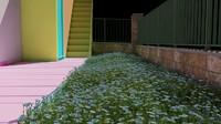 3d garden model