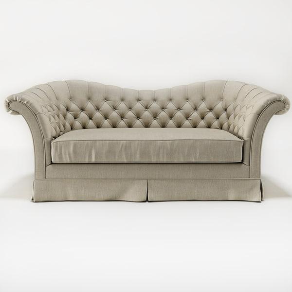 susy sofa 3d max