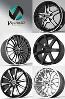 3dsmax corniche wheel rims