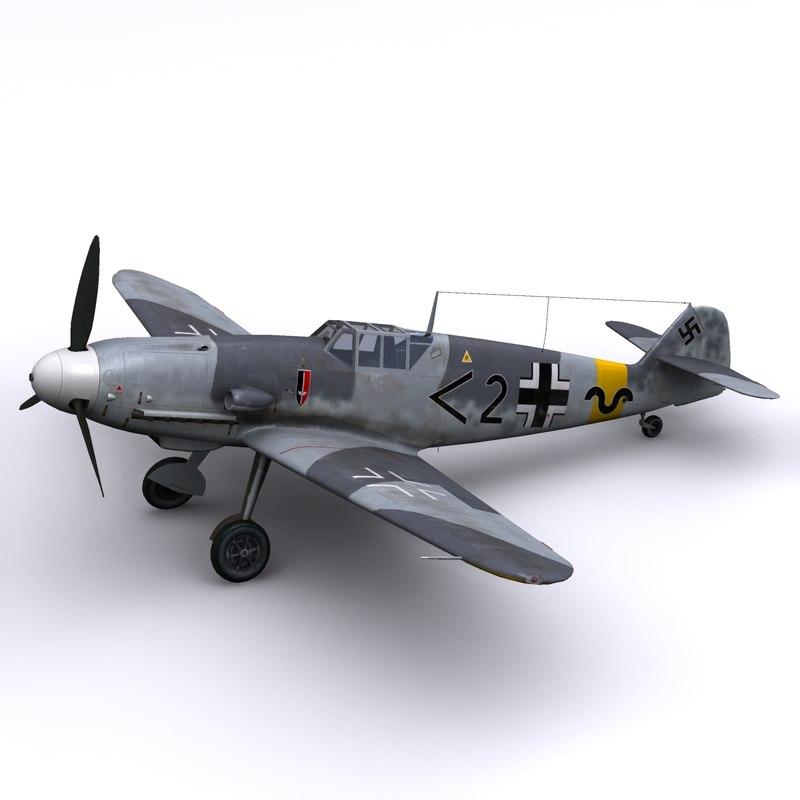 3d german gunther rall model