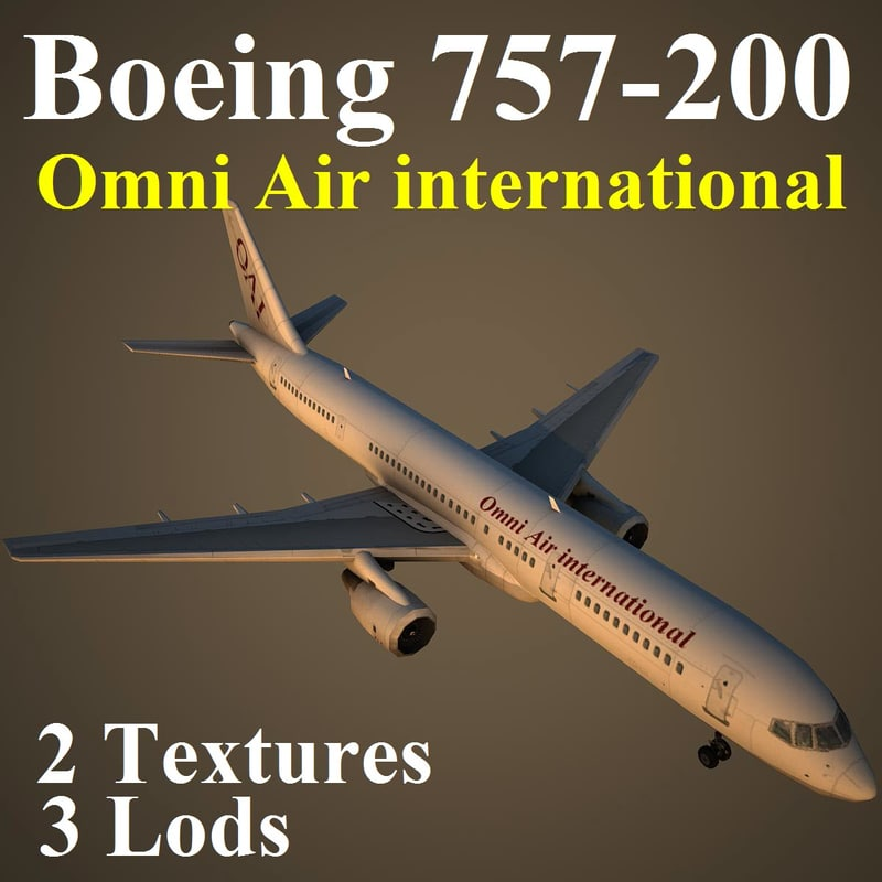 max boeing 757-200 oae