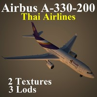 3d airbus tha model