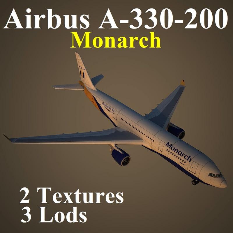 3ds max airbus mon