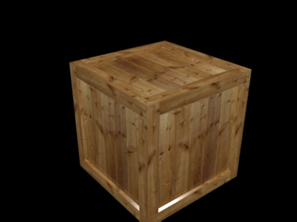 free max mode ready wooden crate