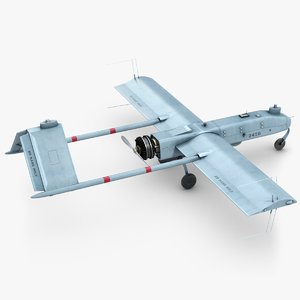 unmanned aerial vehicle shadow 3d model
