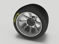 3d wheel tyre