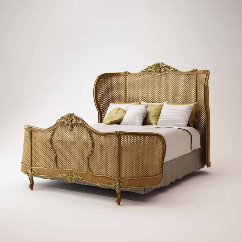 asnaghi bed sc 2501 3d model