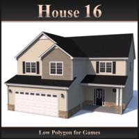 house 16 3d model