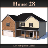 Low Polygon House 28