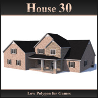 Low Polygon House 30