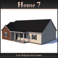 Low Polygon House 7