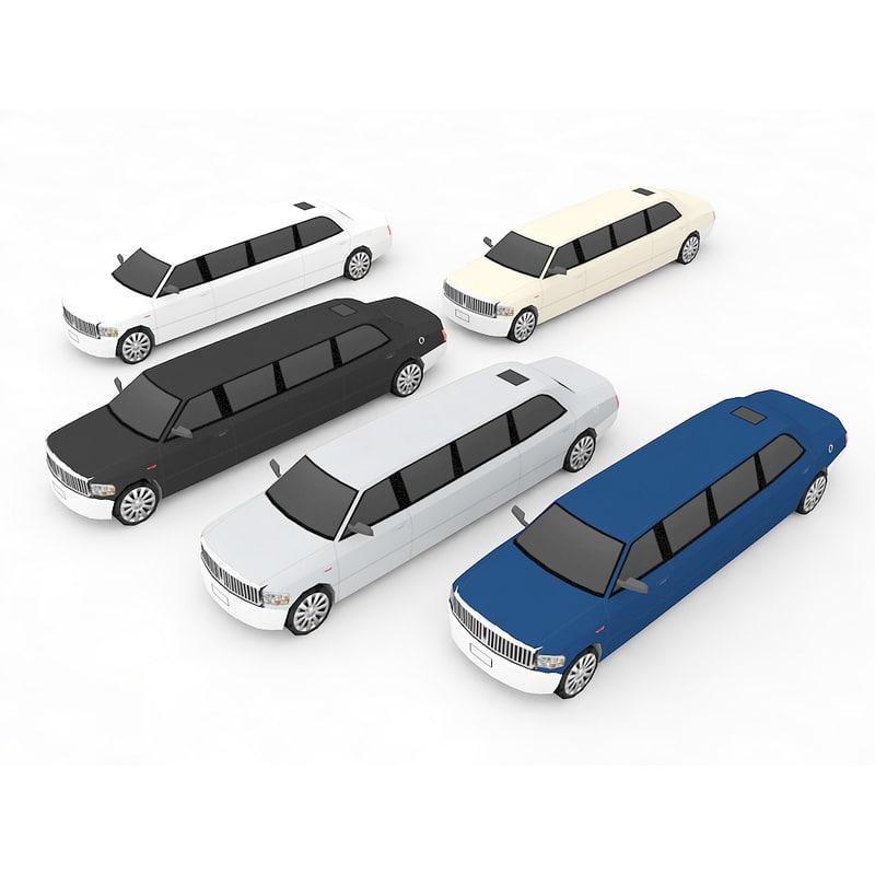 3d model limousine games