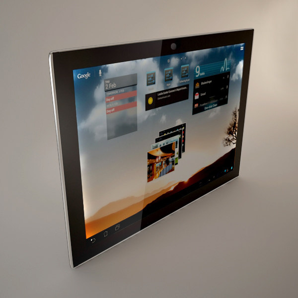 3d tablet model