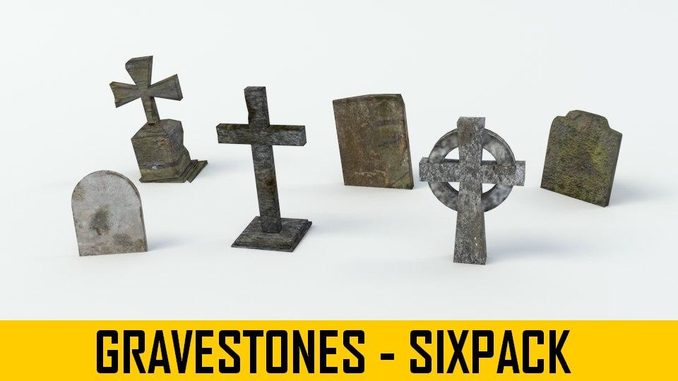 gravestone grave stone 3ds