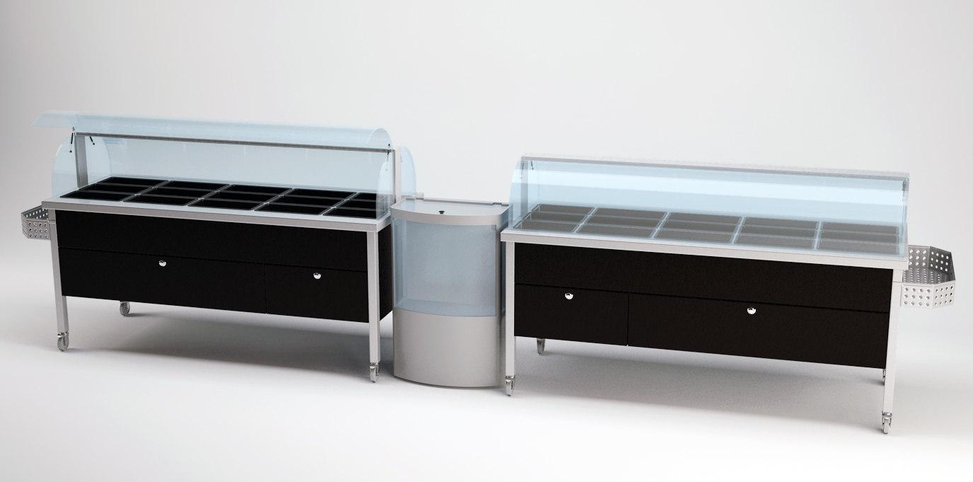 salad bars refrigerator max