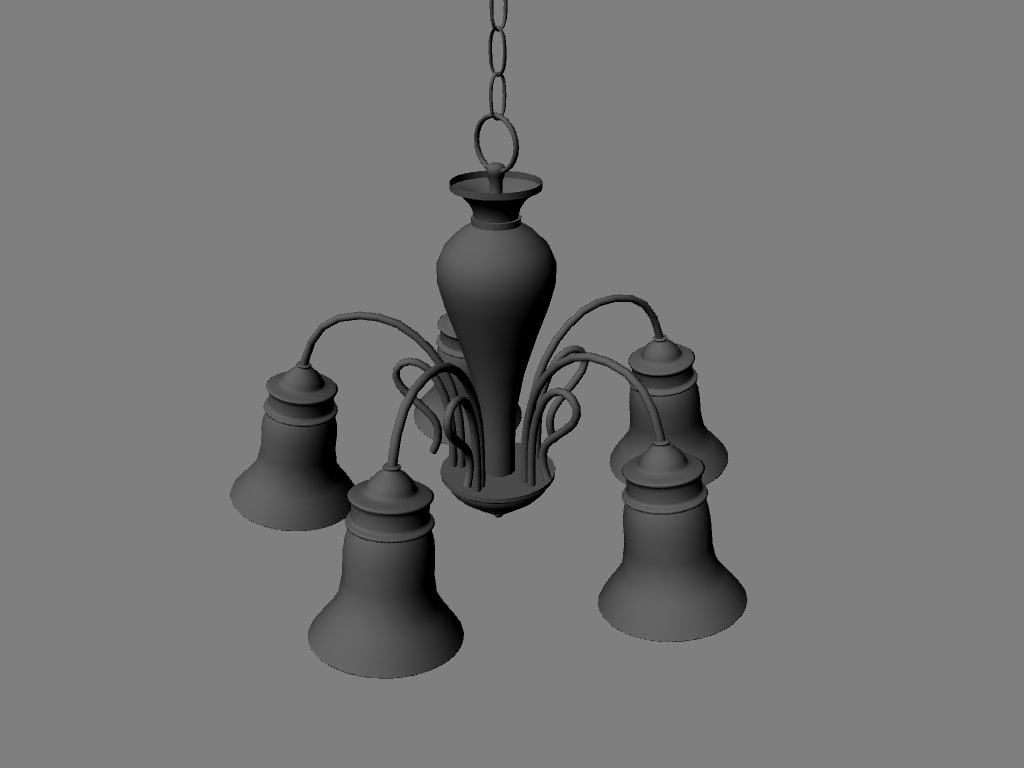 lamp lighting 3d model