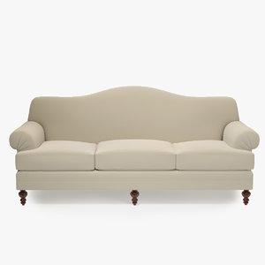 ralph lauren sillwood sofa 3d max