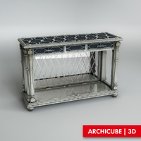 console table 3d max