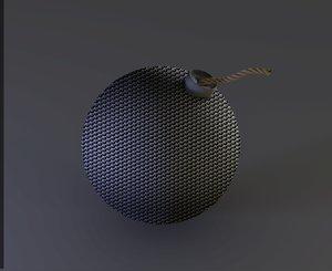 3d model grip bomb