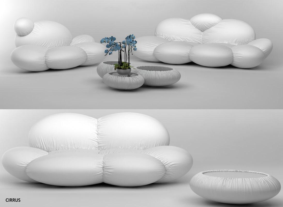 sofas cirrus dizajno max free