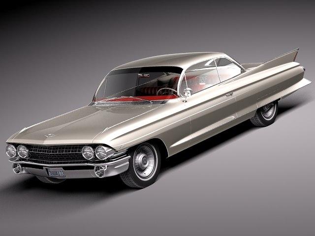 classic antique luxury coupe 3d model