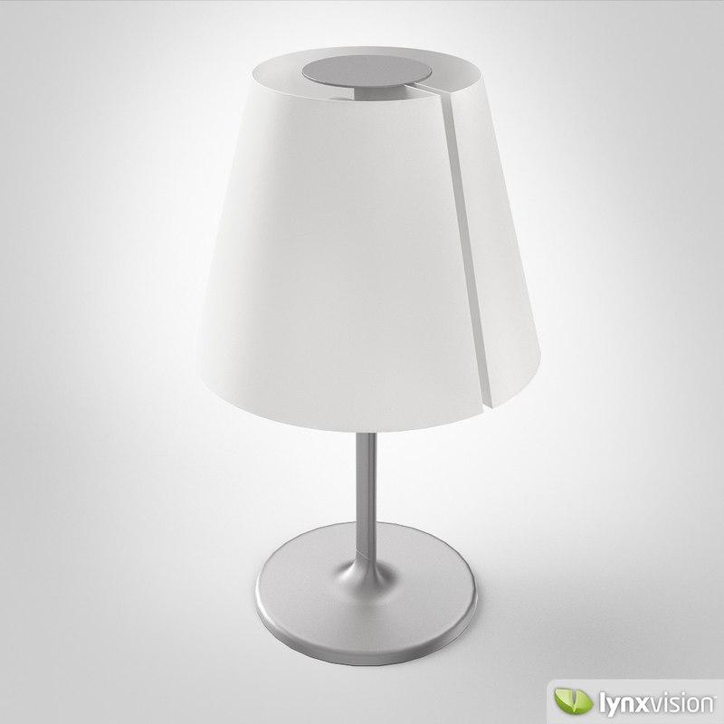 3d model melampo tavolo table lamp