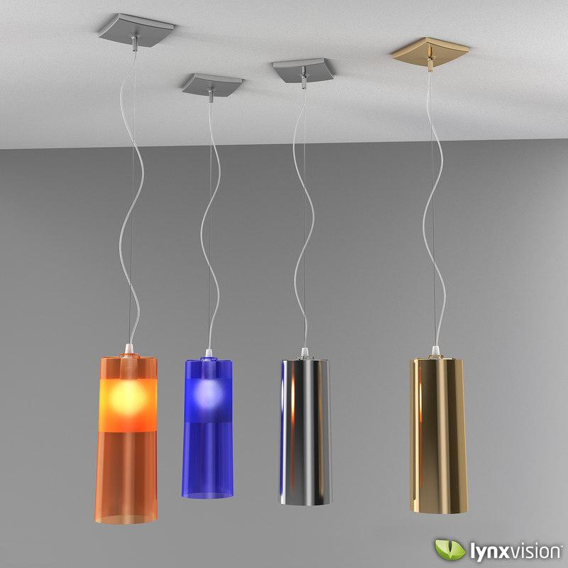 easy pendant lamp kartell 3d model