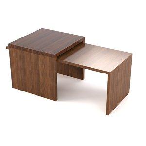 3d house table christina