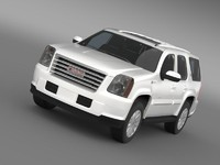 c4d gmc yukon hybrid 2013