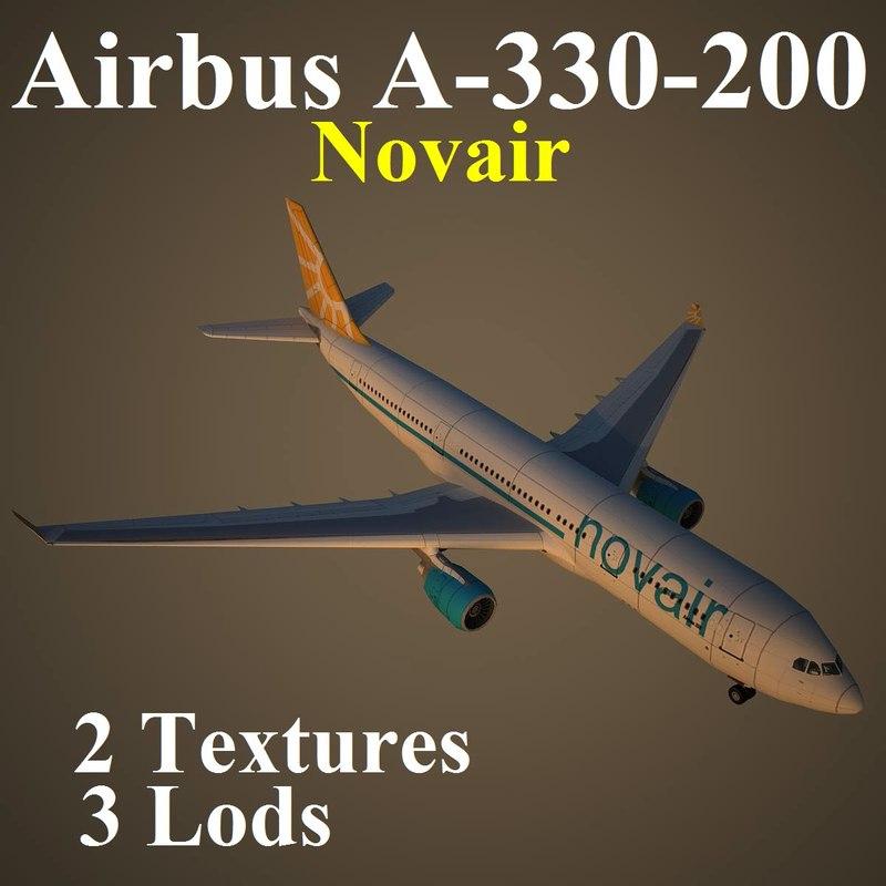 airbus nvr max