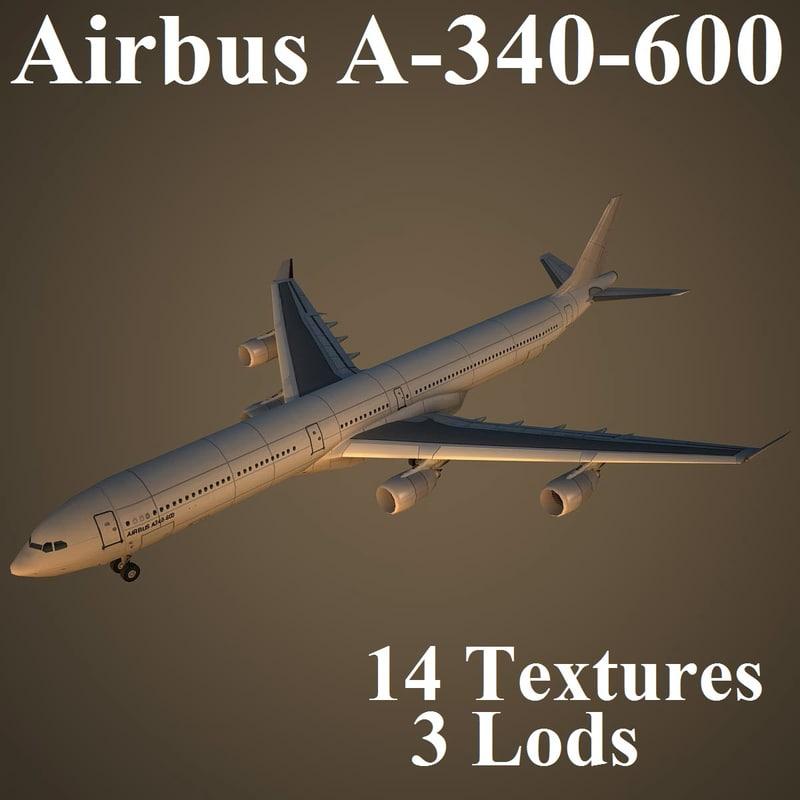 airbus a-340-600 air max