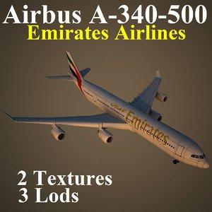 airbus uae 3d model