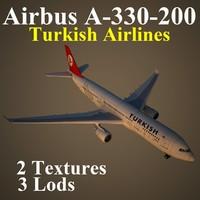 airbus thy 3d model