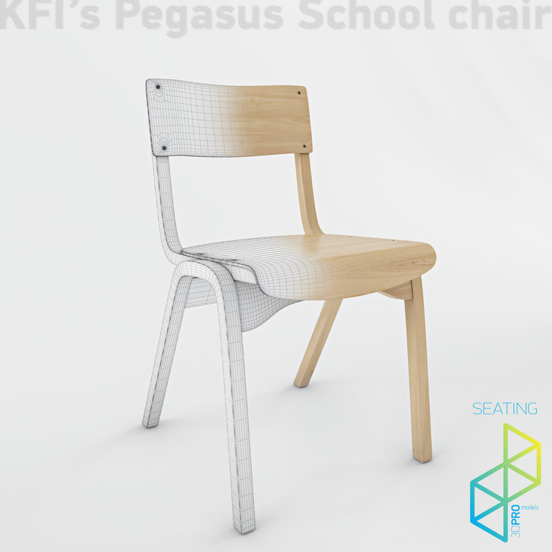 kfi s pegasus chair 3d model