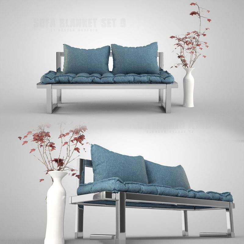 3ds sofa set
