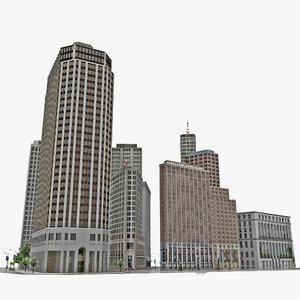 new york city block 3d 3ds