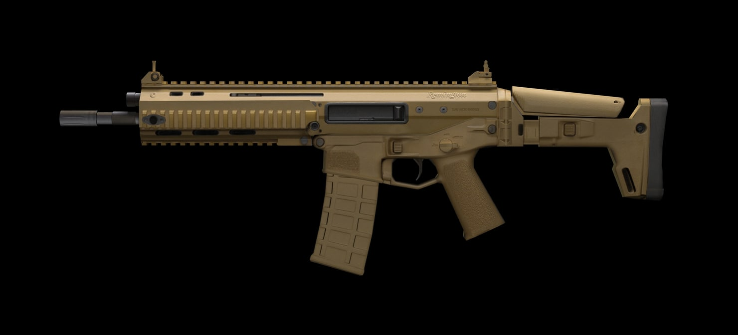3d model remington acr