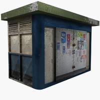 Old News Kiosk