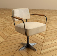 Jean Prouve Desk Chair