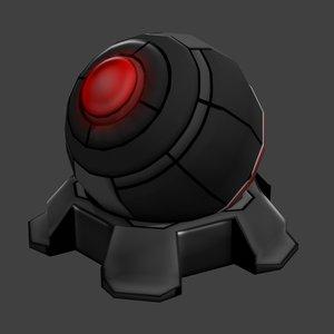 turret sci-fi 3ds