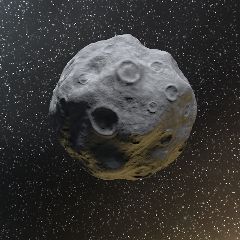 3ds asteroid
