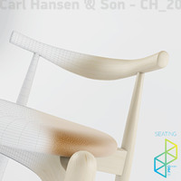 Carl Hansen&Son CH20 Elbow chair
