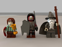 Lego Lord of the Rings Minifigures Collection