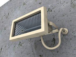 3d projector flood light lamp model
