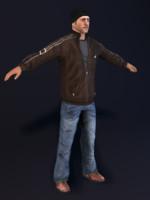 3d model hijacker character