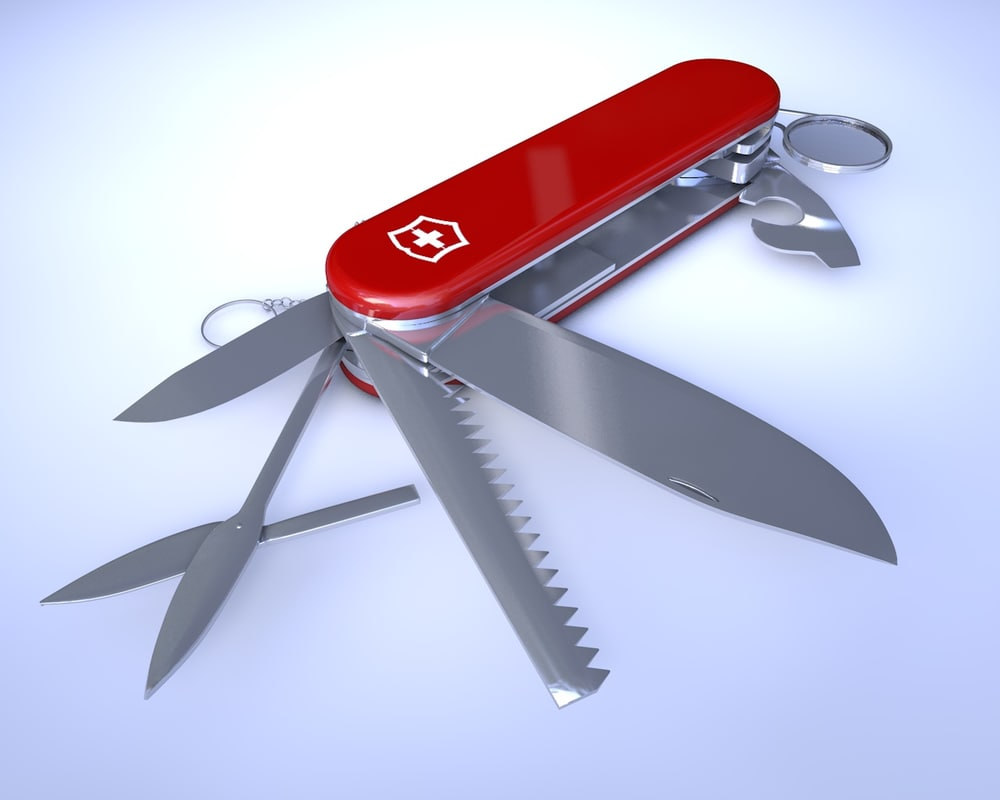 3d Swiss Army Knife Rigged