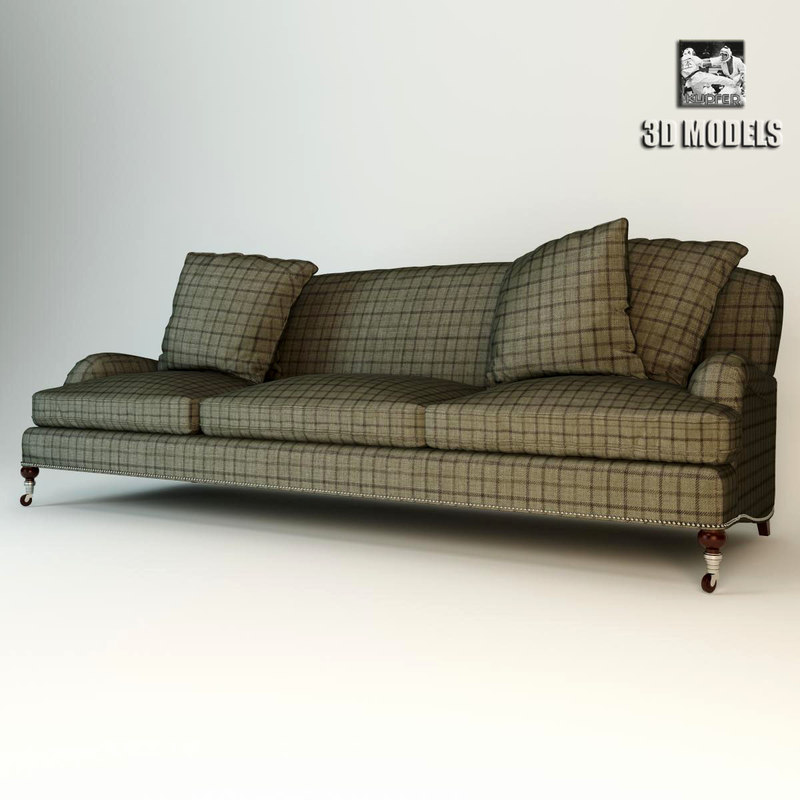 Plaid Sofa Ralph Lauren