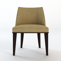 3d dining chair