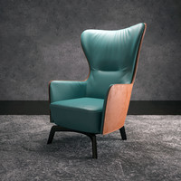 3d mamy blue chair