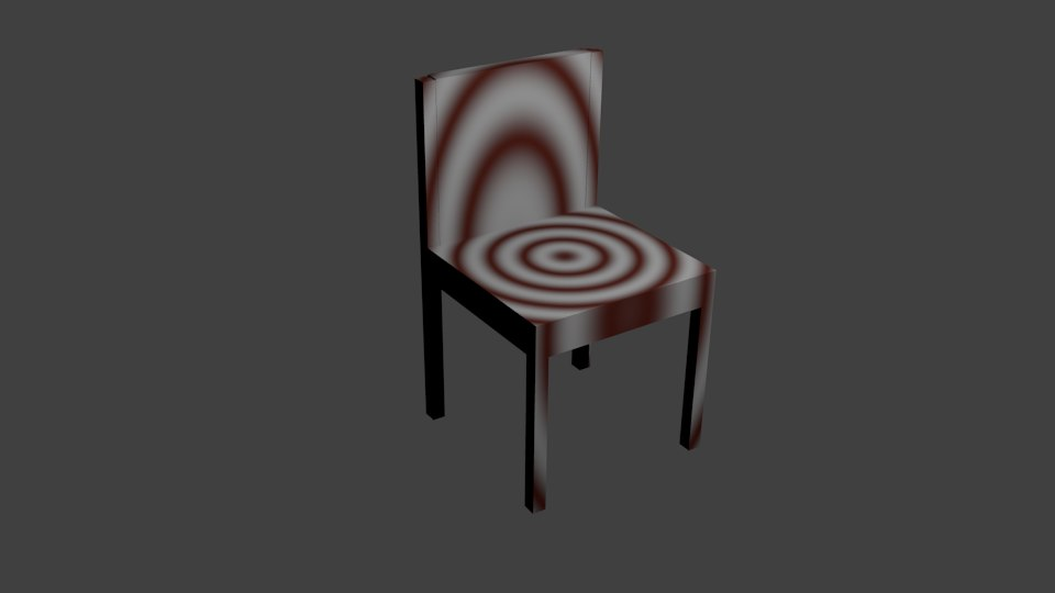 3d basic chair